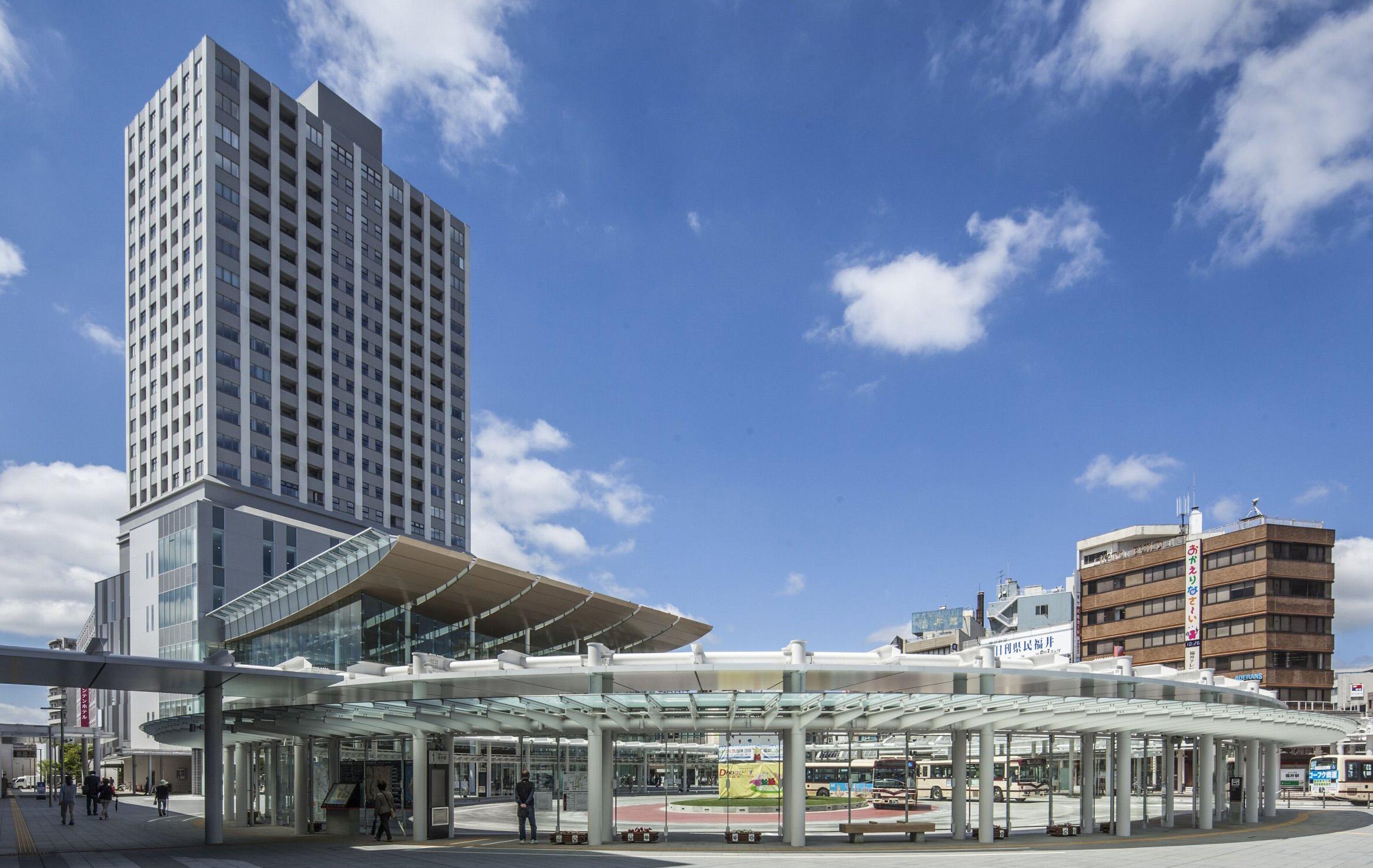 ハピリン(福井駅西口中央再開発)