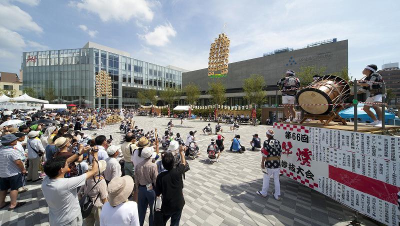 「エリアなかいち」が公共建築賞 優秀賞を受賞しました