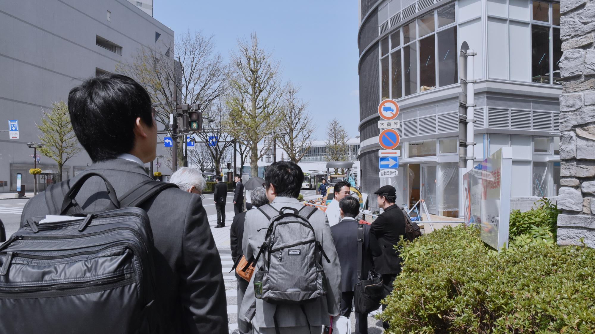 富山-金沢視察(新人研修)